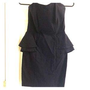 Strapless Body Shaping Mini Dress